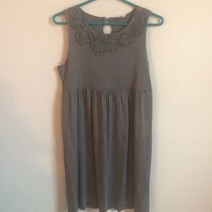 Fossil gray dress.